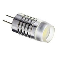 G4 1.5W COB 120lm 6000K White Light LED izzó Car lámpák (DC 12V)