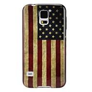 Για Samsung Galaxy Θήκη Θήκες Καλύμματα Εξαιρετικά λεπτή Με σχέδια Πίσω Κάλυμμα tok Σημαία TPU για Samsung S5