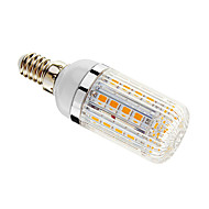 E14 5 W 36 SMD 5050 480 LM Warm White T Dimmable Corn Bulbs AC 220-240 V