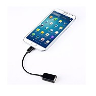 USB Kvinna OTG-kabel för Samsung mobiltelefon