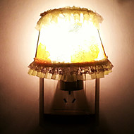 10W Yellow Lace Flower Cloth LED Night Light(AC110-240V)