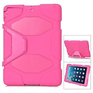 Letter G Survivor Defender Plastic  Military Drop Resistance Shockproof Hard Case with Stand for iPad Air