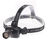 BD6101 Adjustable Focus 3-Mode 3W LED Cool White Headlamp(3xAAA,180LM,Black)
