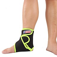 Sports Basketball Elastic Silicone Ankle Foot Brace Support Wra - Free Size