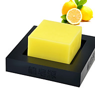 Handmade Lemon Soap Whitening Moisturizing Anti-Acne 100g