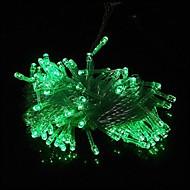 100 LED 10m Green String Decoration Light for Christmas Party Wedding (220V)