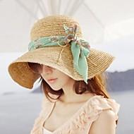 Γυναικεία Μόδα πανί Bowknot Beach Hat