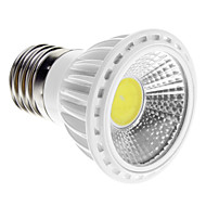 E14 / GU10 / E26/E27 5W 1 COB 450-480 LM Warm White / Cool White Dimmable LED Spotlight AC 220-240 V