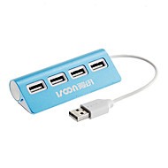 4 portas Hi-Speed ​​USB 2.0 Hub