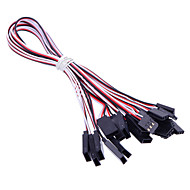 10pcs 30cm Servo Extension Cord Servo Lead for RC Helicopters/Cars Servo Conection