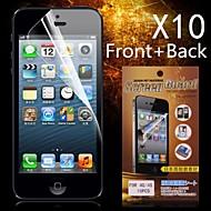 Zaštitna HD Prednji + Back Screen Protector za iPhone 4/4S (10kom)