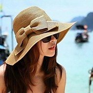 Γυναίκα Ψάθινο καπέλο Καλοκαίρι Καθημερινό Άχυρο
