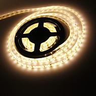 Vodotěsný 5M 120W 300x5630 SMD Warm White Light LED Strip lampy (DC 12V)