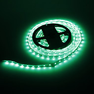 5M 24W 300x3528SMD Green Light LED Strip Lamp (DC 12V)