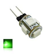 LED Mais-Birnen T G4 0.5W 70 LM K 5 SMD 5050 Warmes Weiß / Kühles Weiß / Blau / Grün DC 12 V