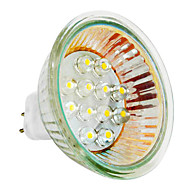GU5.3 1 W 12 Dip LED 40 LM Warm wit MR16 Spotjes AC 110-130 V