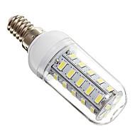E14 7W 36x5730SMD 650LM 6000-6500K Cool White Light LED Corn Bulb(220V)