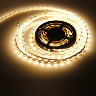 5M 72W 300x5050SMD 3000-3500K warm wit licht LED Strip Lamp (DC 12V)