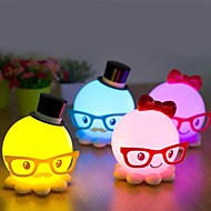 Strange New Cute Octopus Model Energy-Saving Small Night Light LED bordlampe