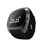 RWATCH M18 Wearable Smartwatch,Media Control/Hands-Free Calls/Pedometer/Anti-lost for Android/iOS