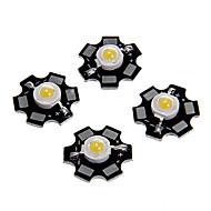 zdm ™ 1s haute puissance couleur blanc chaud conduit module avec pcb d'aluminium (3.0-3.4v, 5pcs)