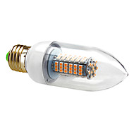7W E26/E27 Luzes de LED em Vela C35 120 SMD 3528 630 lm Branco Quente / Branco Frio AC 220-240 V