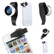 Objectif Fish-Eye/Objectif Grand Angle PommeiPhone 4/4S/iPad 2/Nouvel iPad/iPhone 5/iPad mini/iPad 4/iPhone 5C/iPhone 5S/Air iPad/iPhone 6/iPhone 6