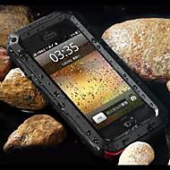 toophone® joylandsuper transformador metal frio à prova d'água e poeira e anti raspar de volta para o iPhone 5 / 5s