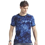 Aidiaisi®Men's Round Neck Causal  Short Sleeve Camouflage T-shirt