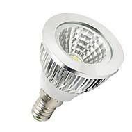 LOHAS E14 5 W 1 High Power LED 350-400 LM Warm White / Cool White MR16 Spot Lights AC 100-240 V