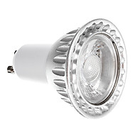 GU10 6W 1 COB 550 LM Warm White Dimmable LED Spotlight AC 220-240 V