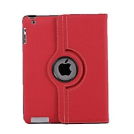 Cowboy Grain 360 Degree Rotating Full Body  Case for iPad 2/3/4(Assorted Colors)