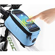 ROSWHEEL 4.8 Inch Cycling Polyester Vandtæt Bike Tube touch screen mobiltelefon taske