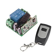 12V 1-Channel Wireless Remote Power Relay Module with Remote Controller (DC28V-AC250V)
