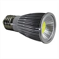 E26/E27 7 W 1 COB 600LM LM Natural White Dimmable Spot Lights AC 100-240 V