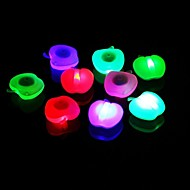 forma de la manzana 4 colores en bicicleta luces de la rueda