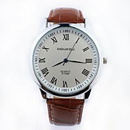 Men's Fashion Simple Roman Dial Wrist Watch