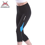 MYSENLAN® Calças 3/4 Para Ciclismo MulheresRespirável / Secagem Rápida / Resistente Raios Ultravioleta / Alta Respirabilidade (>15,001g)
