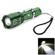 LED Flashlights / Handheld Flashlights LED 6 Mode 500-700 Lumens Adjustable Focus / Rechargeable / Waterproof Cree XM-L T6 18650