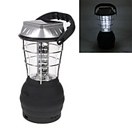 Luci 36 LED manovella solare lanterna lampada di campeggio