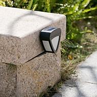 Fence Solar LED 2-LED per esterni Luce della parete di paesaggio Pinup Garden Path Lamp