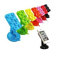 Car Windshield Suction Cup Mount Rotating Stand Holder Universal for iPhone4/4S/5/5S/6 (Assorted Color)