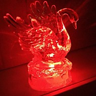 Coway Akryl Crystal Colorful Swan LED Night Light