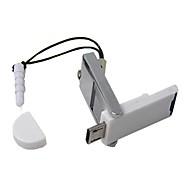 2 in 1 Micro SD TF Card Reader met OTG USB 2.0 Micro USB voor Samsung Galaxy S2 S3 en PC