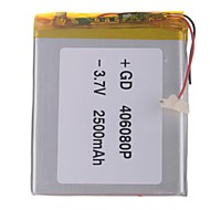 """Universal Replacement 3.7V 2500mAh  Li-polymer Battery for 7~10"""" Macbook Samsung Acer Sony Apple Tablet PC (4*60*80)"""