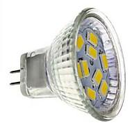 JUXIANG GU4(MR11) 3 W 9 SMD 5730 250 LM Cool White MR11 Decorative Spot Lights DC 12 V