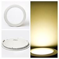 ZDM ™ 9W lumini LED tavan / lumini LED panel încastrat 40 smd retrofit 2835 700 lm cald ac alb 85-265 v