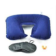 Outdoor Three-piece Suit Travel Treble U-shaped Pillow Blindfold Earplugs