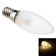 Luci LED a candela 7 SMD 5050 Eastpower C35 E14 Decorativo 70 LM Bianco caldo AC 220-240 V