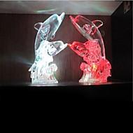netten Delphin Design Kunststoff Nachtlicht (Zufalls colorx1pcs)